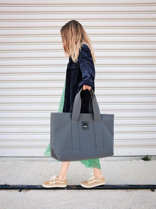 Cora Shoulder Bag Grey 4